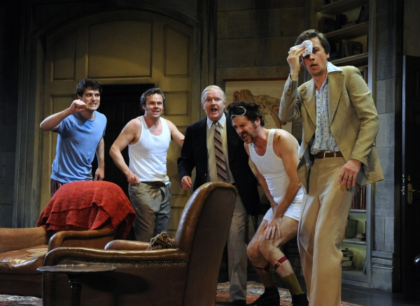 James Dutton (Taylor), Jamie Glover (Headingly), Simon Coates (Tate), Jason Durr (Quine), and Nicholas Rowe (Buckle)